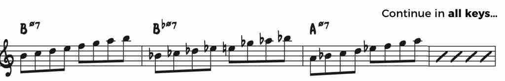 Practice Locrian Mode