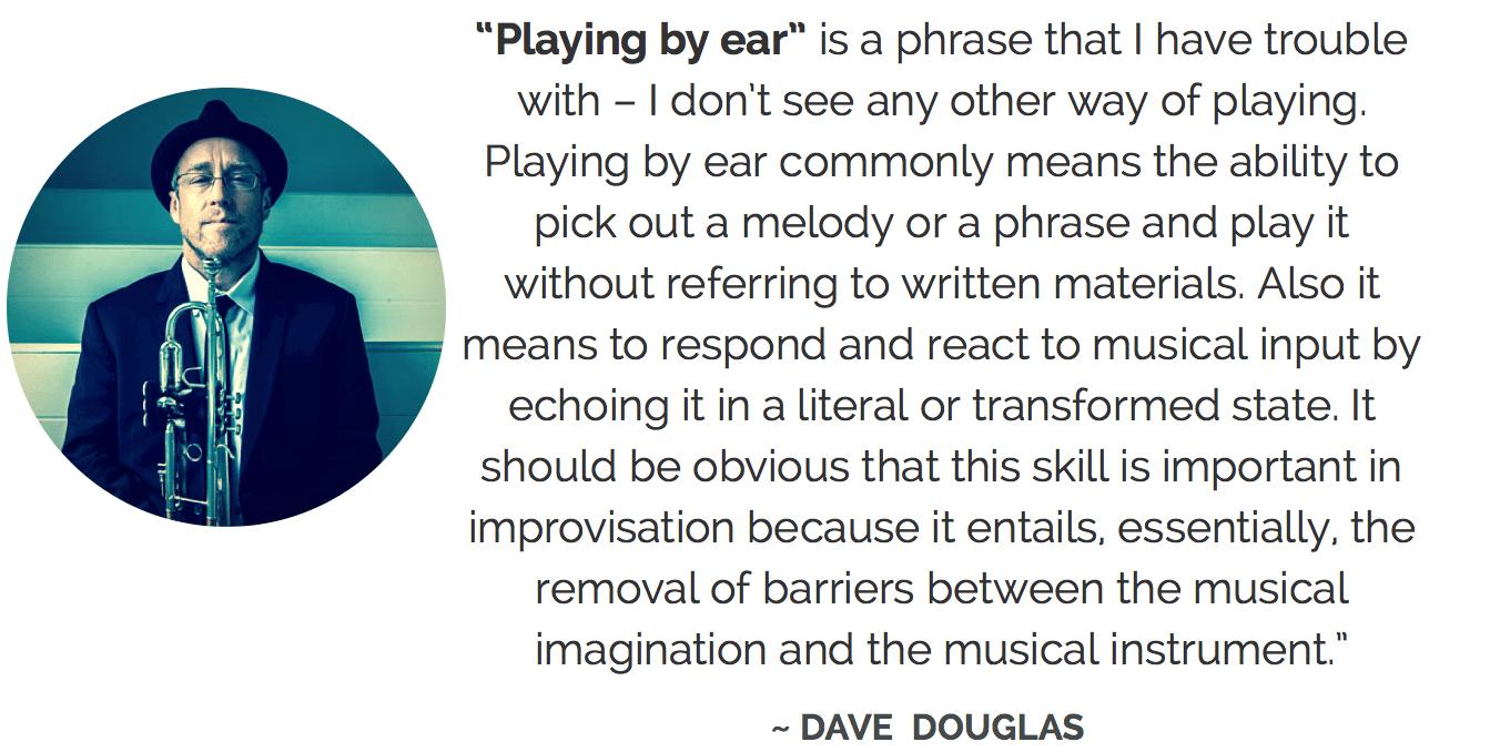 Dave Douglas ear training