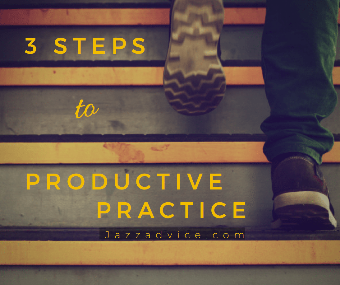 3 steps to productive practice