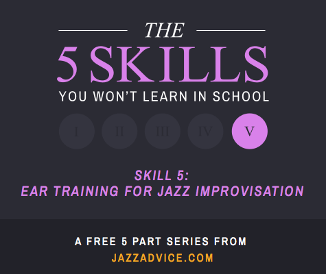 Ear Training for Jazz Improvisation