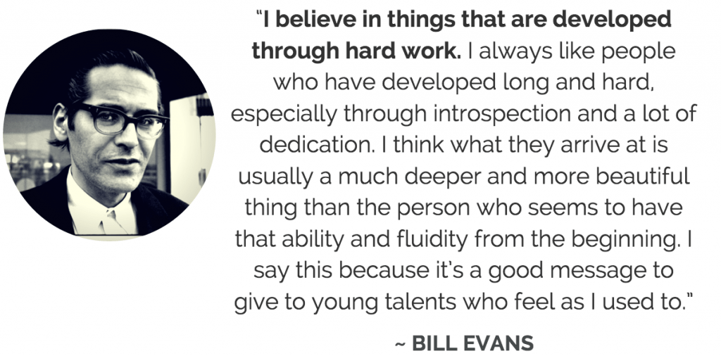 Bill Evans quote