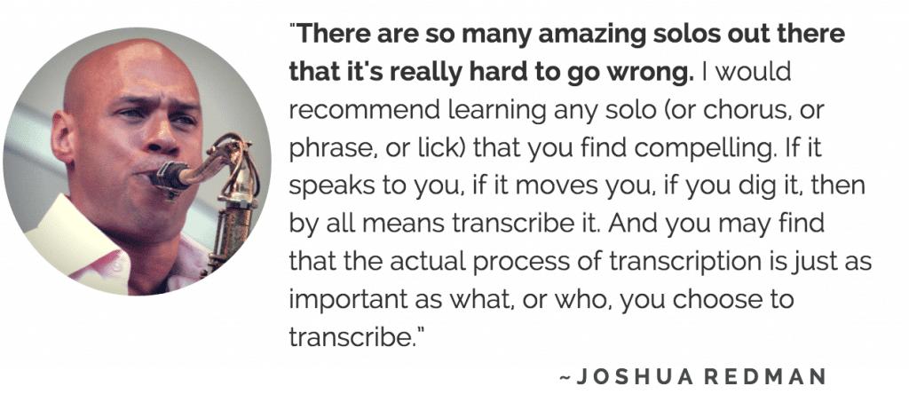 Joshua Redman quote
