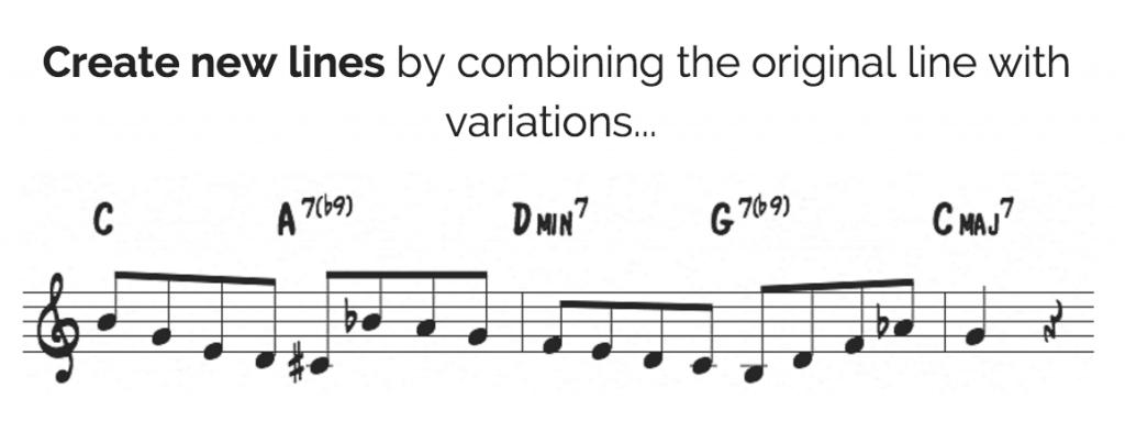 Original line with variations