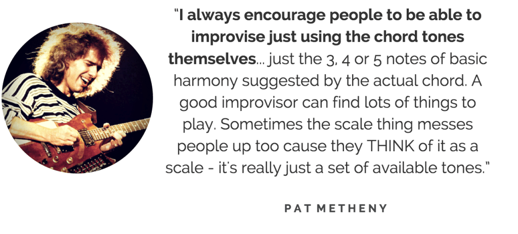 Pat Metheny quote
