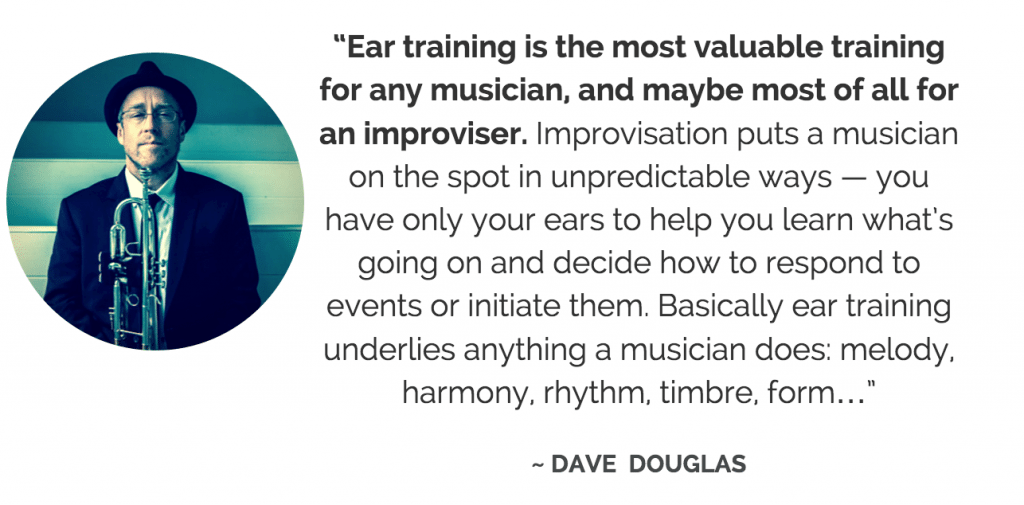 Dave Douglas ear training