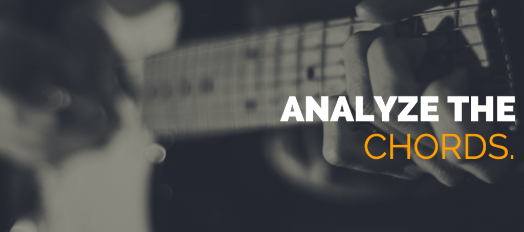 analyze the chords