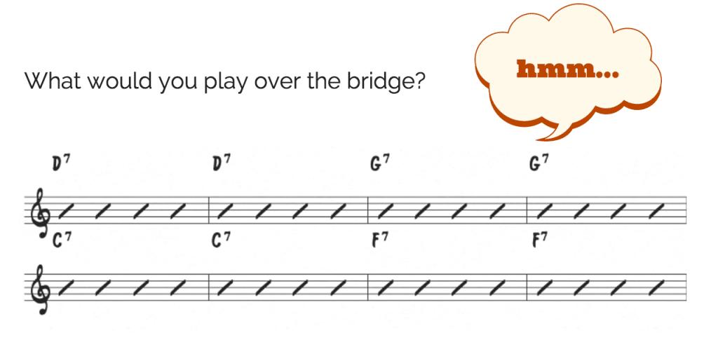 Rhythm Changes Bridge