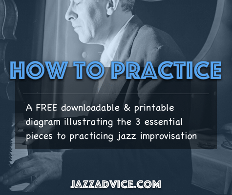 How To Practice Jazz Diagram