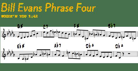Bill Evans Phrase 4