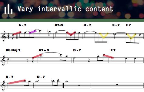 Vary intervallic content