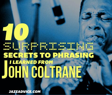 John Coltrane Phrasing