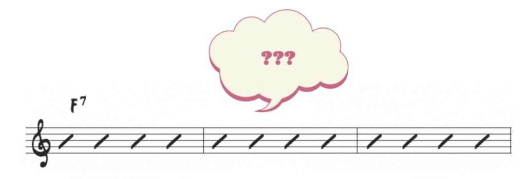 F7 chord
