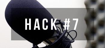 Hack 7 for jazz musicians