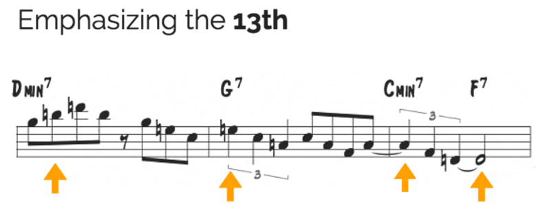 Utilizing the sound of the 13th