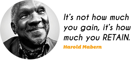 How much you gain: Harold Mabern Quote