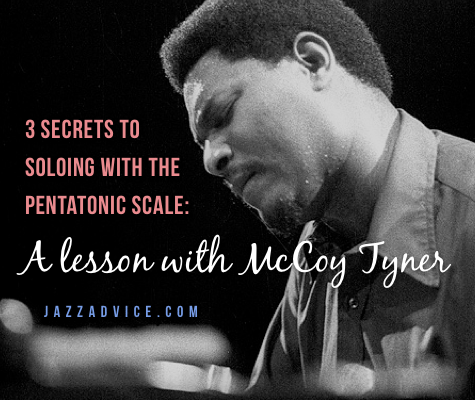 Lesson with McCoy Tyner