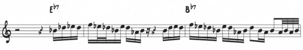 McCoy Tyner pentatonic application