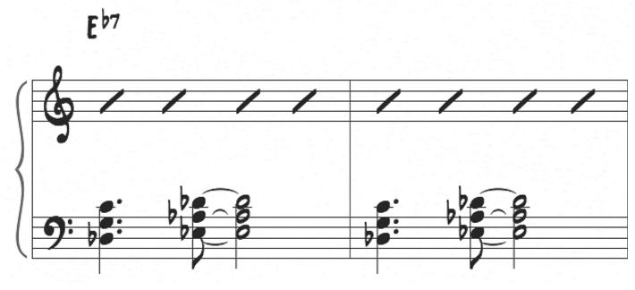 McCoy Tyner left hand