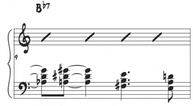 McCoy Tyner left hand movement