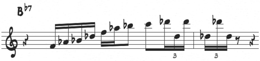 McCoy Bb minor pentatonic