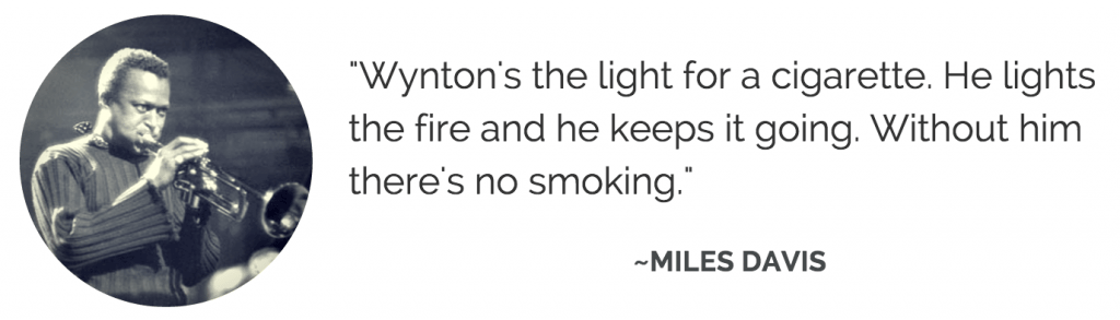 Miles Davis on Wynton Kelly