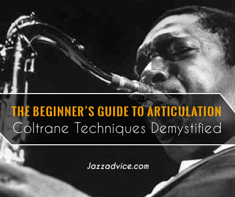 The guide to jazz articulation