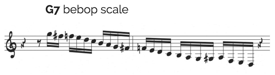 Mulgrew Miller bebop scale