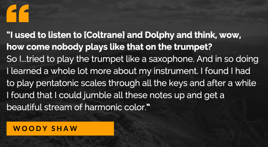 Woody Shaw quote
