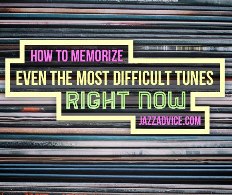 Memorize Complex Tunes Now