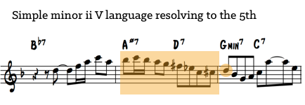 minor ii V language 3
