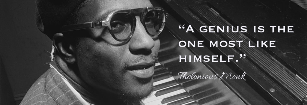 Thelonious Monk the genius